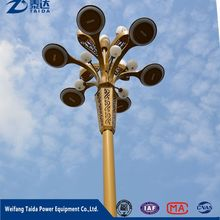 Best Selling Products Galvanized Steel Solar Power Electric 9M Street Light Pole