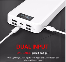 YOOBAO LCD screen Power Bank 20000mAh provide electrictity for pokemon game