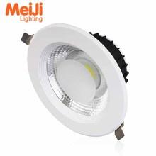 zhongshan 8 inch 15W 20W recessed IP44 commercial led downlight