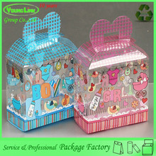Special design printing lovely toy plastic packaging box