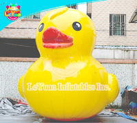 Factory Price giant inflatable promotion duck, inflatable advertising