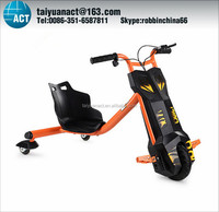 High quality three Wheels Srt Tire Drift Trikes Steel 3 Wheel Electric Scooter 150w