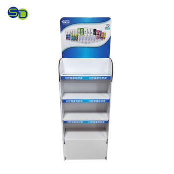 Supermarket Brand Quality Colgate Toothpaste Display Advertisement Shampoo Display For Daily Use Items