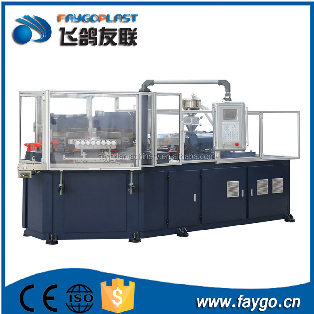 china manufacturers small sized desktop hdpe mini plastic crate stretch 150ton 250 ton injection blow molding machine for sale