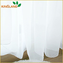 Best quality white voile sheer guangzhou curtain
