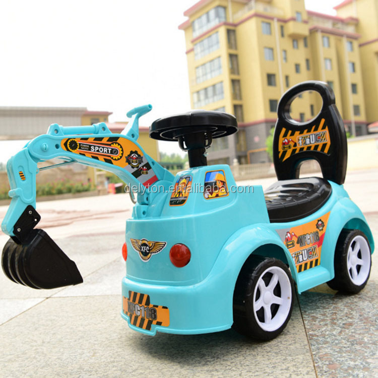 Wholesale Colorful Four Wheels Baby Scooter Music Toy Car