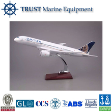 Customized plastic material large scale model aircraft