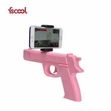 Mobile Phone BT Shooting Game Player Wood AR Game Gun In Toy