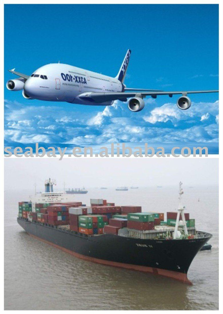 ocean/ sea / air freight from Shenzhen China to Prince Rupet Canada