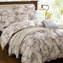 China supplier 6pcs custom home textile printed bright color comforter sets luxury bedding sets