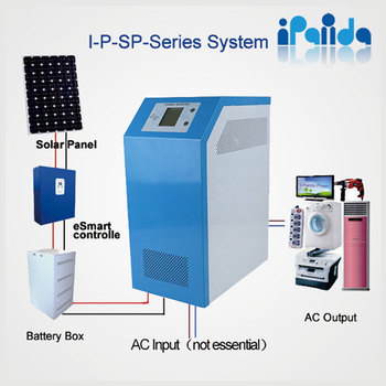High quality off grid home solar system 5KW DC to AC inverter
