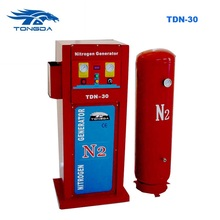 Tongda liquid gas n2 nitrogen generator machine TDN 30 air compressor