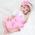 Reborn Baby Dolls Girls Toy Lifelike Vinyl Soft Silicone Dolls Reality Newborn Lovely Baby Dolls