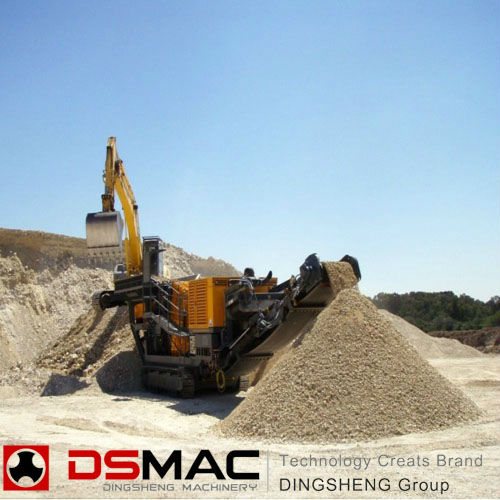 Komatsu Mobile Crusher With Perfect Performance From Top 10 China Brand manufacture