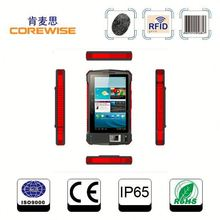 rugged industial terminal fingerprint sensor/RFID reader/barcode scanner tablet pc 3g sim card slot