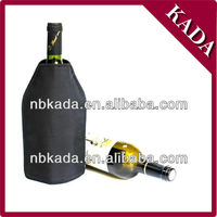 gel wine cooler, gel filled cooler bag ,wine bottle cooler,gel bottle cooler