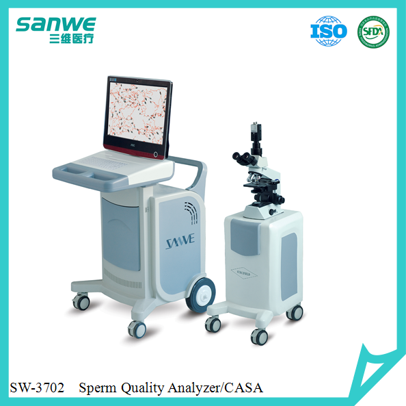 Sanwe SW-3701 CE Approved Clinical Human automatic sperm collector in use