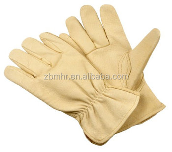 Brand MHR wholesale sheepskin leather glove touch gloves leather working glove