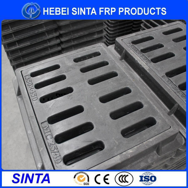 Factory in Hebei China Hot sale customized bmc sewer manhole cover