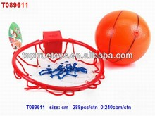 Basketball board with 14 cm basketball