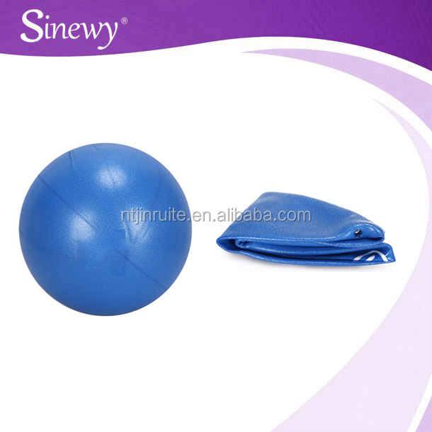 Mini Inflatable Exercise Ball/straw ball/Mini yoga ball