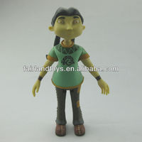 action plastic figure toy,custom made toy figure,movable plastic figure