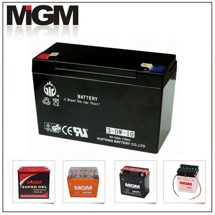 e-bike battery 6V10AH