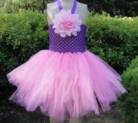 Wholesale 9inch crochet top tutu lined,lined crochet tutu tops,beautiful girl tube tops