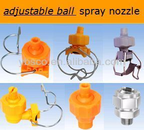 Vegetable and fruits wash adjustable nozzle