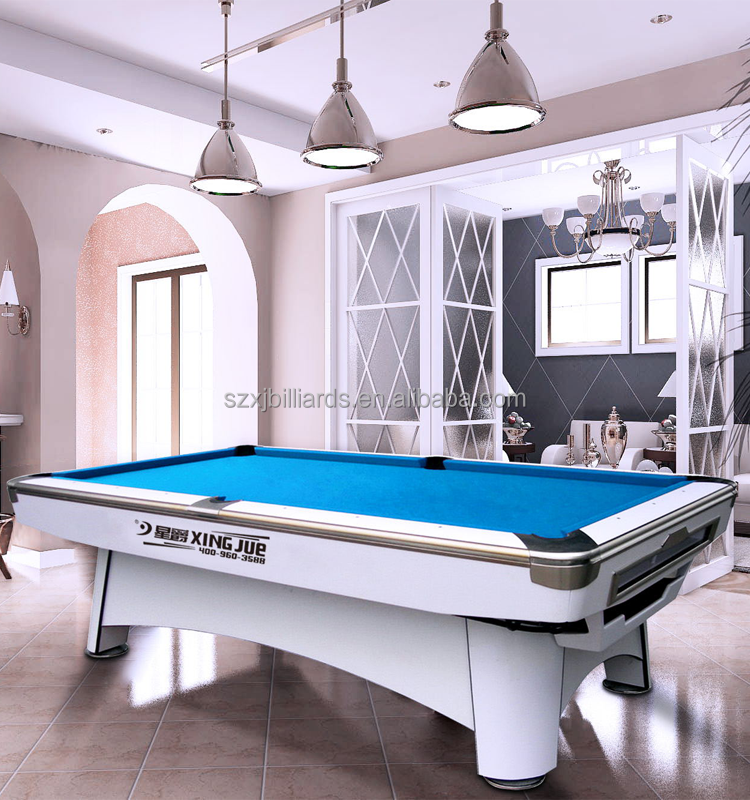 United Billiards Stone Slate Pool Table for Sale With Metal Pool Table Corners