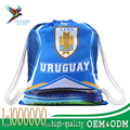 2018 World cup Russia football strong sport bags Uruguay drawstring backpack