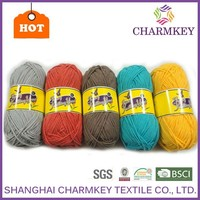 2015 hand knitting cotton yarn for scarf