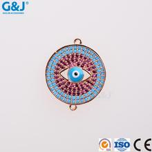 GJ brand whlesale custom beads connector jewelry Unique Fashion Jewelry Accessories pendant