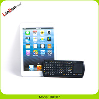 Fashion Design Palm-Sized Backlit Bluetooth Keyboard With Touchpad For Tablet/Smartphone BK507