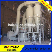 Mining cyclone dust collector for grinding machine