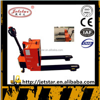 1200kg small semi electric hydraulic pallet Forklift Truck