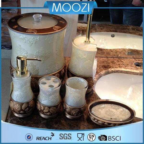 Fancy hotel balfour bathroom accessories hot selling for Fancy bathroom accessories sets