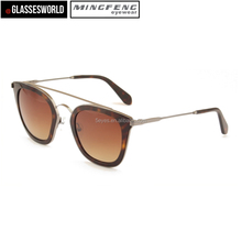 Hot sale wholesale UV400 eyeglasses metal frame vintage sunglasses
