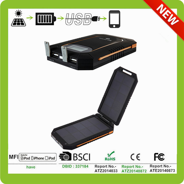 high efficiency solar panel folding solar mobile charger