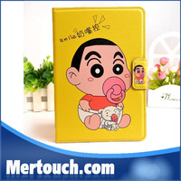 nipple leather case for ipad cartoon nipple tablet PC case for ipad