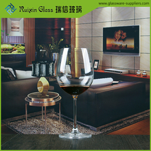 Chinese factory lead-free crytsal thin stem large balloon wine glasses, wine glass vase 8.8 oz