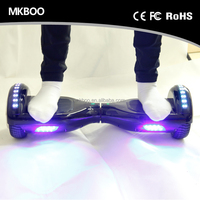 Factory supply best quality electric powered skateboard 4400mah Samsung battery 2 Wheel MKBOO Electric Scooter