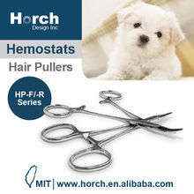 Pet dog cat bath cleaning tool hair pullers hemostats forceps
