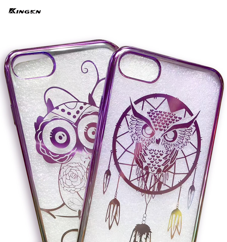 2016 Printing TPU Case Used Mobile Phones For Iphone 7 Smartphone Electroplating Case