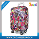 Encai Fashion Travel Printing Style Luggage Protector Cover Durable Luggage Case Cover