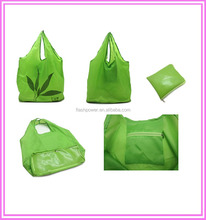210D Polyester Promotional Foldable Shopping Bag