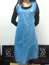 Thick plastic disposable aprons for Hospitable Nurse Caring