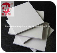 weather resistance pvc foam board mounted self adhesive and sticker pvc
