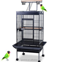 Factory Price High Quality Play Top Metal Large Parrot Cages for Sale