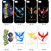 2016 New in China Team Valor Team Mystic Pokemon Go Phone Case for iphone 6 6s plus
